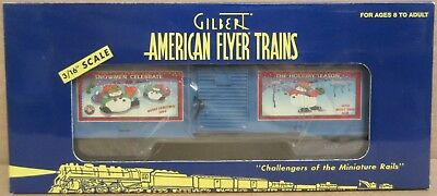 Lionel American Flyer Trains 6-48353 2003 Christmas Car S Gauge S Scale NOS