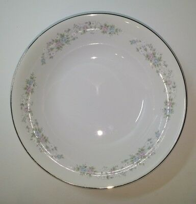 Vegatable Serving Bowl Carlton Japan Corsage 481 Floral 9.25""