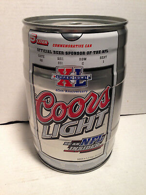 Coors Light Beer Party Can, 5 liters, #33