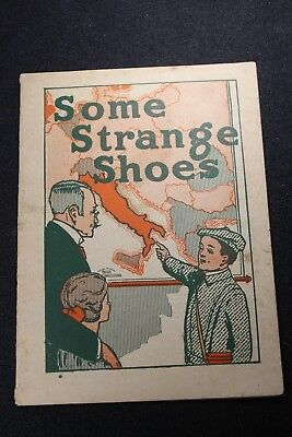 pre-1918 Dalsimer Shoe Store 'Some Strange Shoes' Illustrated Advertising Book
