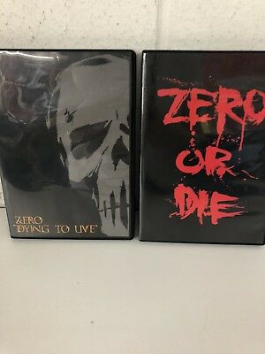 Zero Or Die + Zero Dying To Live  Skateboarding DVDs