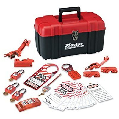 Master Kits Lock Lockout Tagout Kit, Electrical With Thermoplastic Safety