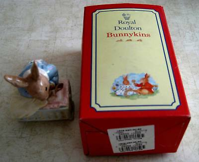 Royal Doulton DB158 New Baby Bunnykins Ceramic Figures, DB158, IN Box! 1994