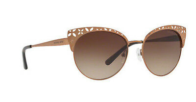 NWT Michael Kors Sunglasses MK 1023 119013 Satin Sable   Gradient Brown  56mm NIB c2bbf106de