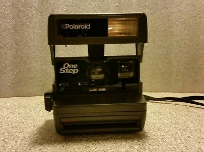 ` Polaroid One Step Close Up Instant 600 Flash CameraTested Very Good Condition