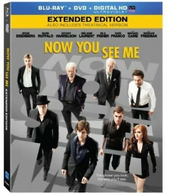 Now You See Me [2 Discs] [Blu-ray/DVD] [Includes Digital (Blu-ray Used Like New)