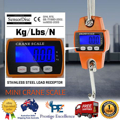 Digital Electronic Mini Crane Scale Industrial Hanging Scales 300KG Load Weight