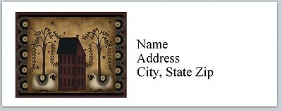 Personalized Address Labels Primitive Country Buy 3 get 1 free (P 448)