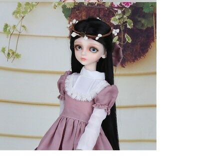 D12 1/4 Girl Super Dollfie Normal Skin Coordinate Model Fullset BJD Doll O
