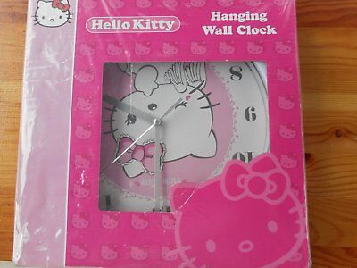 """""""Hello Kitty""""  Childrens Wall Clock  New in Box."""