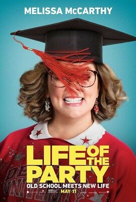 LIFE OF THE PARTY MOVIE POSTER 2 Sided ORIGINAL Advance 27x40 MELISSA MCCARTHY