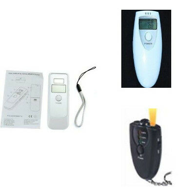 Digital Breathalyzer Alcohol Tester with LCD Display