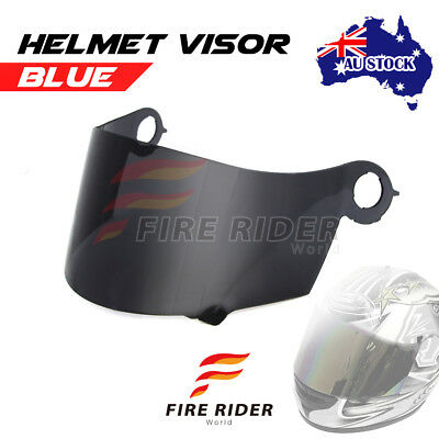 For Suomy Spec 1R Extreme Excel Ultra Tech SMOKE Racing Helmet Visor Shield AU