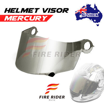 For Suomy Spec 1R Extreme Excel Ultra Tech MERCURY Racing Helmet Visor Shield AU