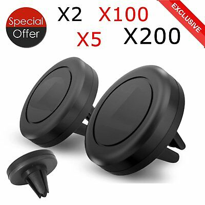 LOT 1-200 Magnetic Phone Mount Holder Universal Car Air Vent for iPhone Samsung