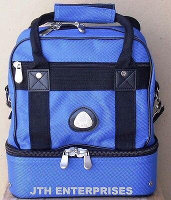 2 Bowl Carry bag shoulder strap & gear compartment with room for 4 Lawn Bowls