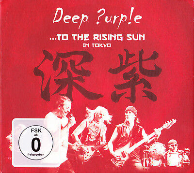 Deep Purple Live 2 CD + DVD ...To the Rising Sun In Tokyo Live 12.04.2014 Best
