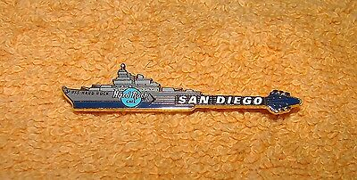 USS Hard Rock Cafe Pin San Diego