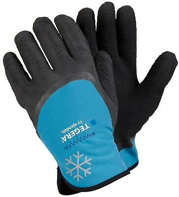 Tegera Ejendals 684 Cold Winter Fleece Lined 3/4 Latex Coated Work Glove