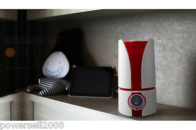 New 4L Diffuser Air Humidifier LCD Air Aroma Diffuser Mist Maker Red Humidifier