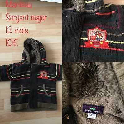 Manteau Sergent Major