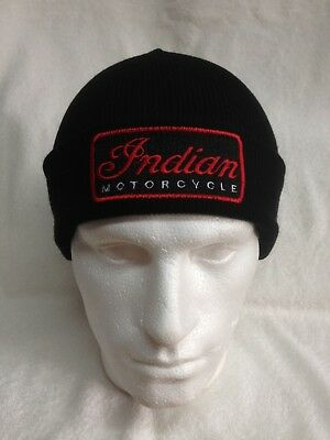 Indian Motorcycles - Woolly Turn Up Hats / Beanies / Baseball Caps / Bobble Hats
