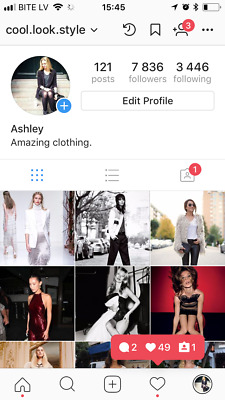 Instagram account 7.8k about Women Fashion. Real People. HQ.