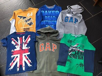 Gap Next Ted Baker Hoodie X 2 1 New T-Shirt X 4 6-7 Years Bundle (D)