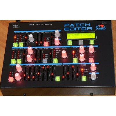 Kiwi Technics Patch Editor Hardware Synth Controller