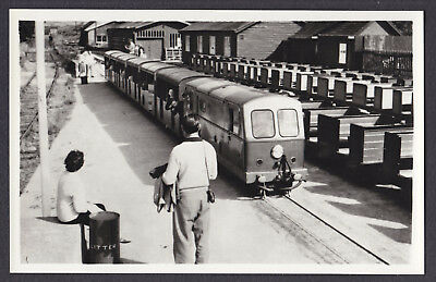 RP Photo Postcard Ravenglass & Eskdale Royal Anchor Loco from Dalegarth Beckfoot