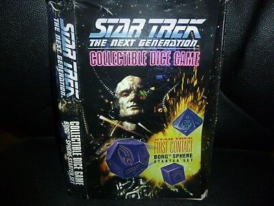 Star trek collectible dice  game