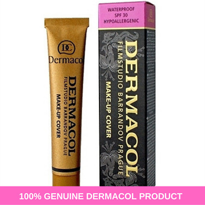 SALE! DERMACOL AUTHENTIC LEGENDARY High Cover Make Up Foundation Film Studio