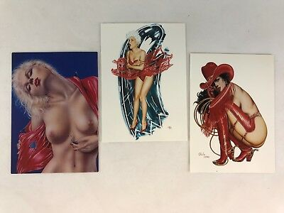 OLIVIA De BERARDINIS BEST OF Comic Images Complete LADIES IN RED CHASE CARD SET
