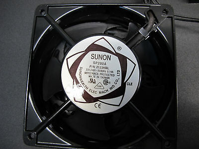 SUNON 120 x 120 x 38mm 220~240V AC FAN SP200A P/N 2123HBL