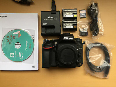 Nikon D600 24.3 MP 3.2'' Screen DSLR Camera Body Only - SHUTTER COUNT 22506