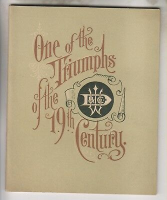 1893 Booklet - William Deering & Co. Chicago - Probably Worlds Fair Giveaway