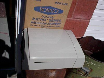 Bobrick Dispenser, C Fold, Multifold, Pull, Steel