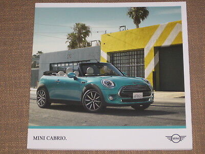 Brochure Catalogue Mini Cabriolet  Mars  2017      50 Pages