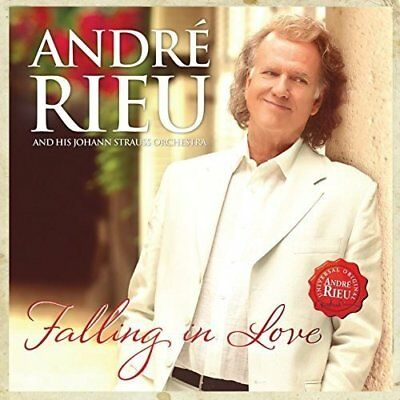 Andre Rieu Falling In Love 2 Discs CD And DVD NEW