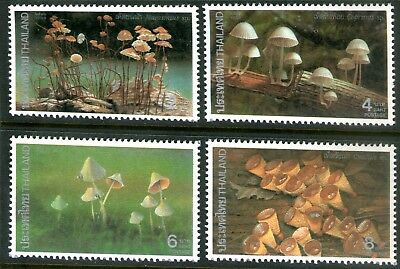 Thailand 1993 Fungi set of 4 Mint Unhinged