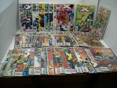 X-FACTOR Vol. 1 #74-120 Marvel Comic Lot Complete run w/Annuals 49 issues VF/NM