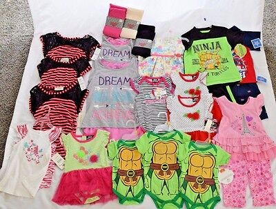 $117 MSRP Wholesale Baby Infant Children Clothing Lot Boy Girl Birthday Gift NEW