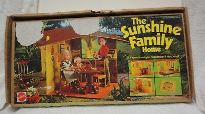 Vintage The Sunshine Family Play House Home 1973 No. 7801