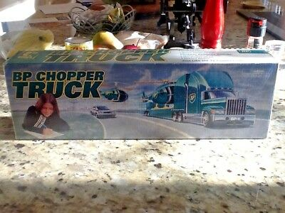 "Vintage 1998 BP ""Lighted"" Collectible Chopper Truck Real Chopper Sound Bonus Car"