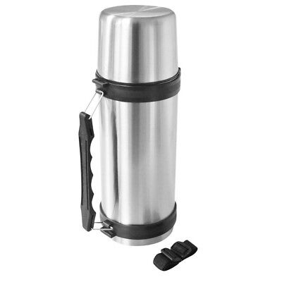 1.5L Stainless Steel Vacuum Flask, 1.5 Litre, Pacific Brand, Push Button Opener