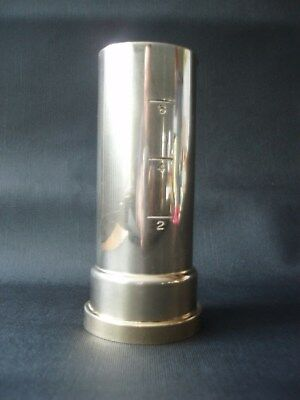 """Vintage Bar Measure Jigger """"How Dry I Am"""" Musical Decanter Whiskey Silverplate"""
