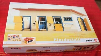 Schleich HORSE STABLE 40164 Retired - USED Excellent Condition in Box
