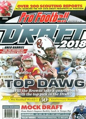 2018 Pro Football Weekly NFL Draft Guide