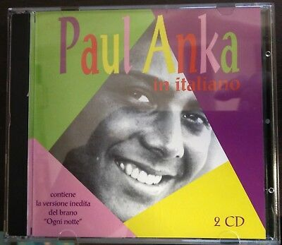 Paul Anka– In Italiano 2XCd 1996 Mint Limited Edition, Numbered 0164 RCA