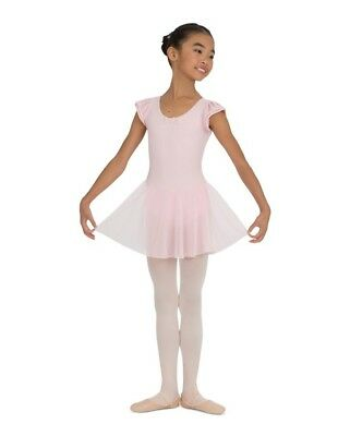 Capezio Ballet Dress-Flutter Sleeve- Size: Small, Pink, NWT